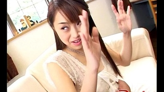 A horny Asian girl gets fucked by some big pink dild from http://alljapanese.net