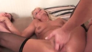 Horny mature sluts go crazy sharing