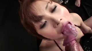Miina stands fast as a group of men touch, fondle, and toy her niggardly body