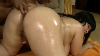 Exotic BBW Twilight Star Gets Fucked in Ass By Big Black Cock