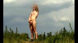 Naked sweaty outdoor fun 01 part 2 fapping and cumming